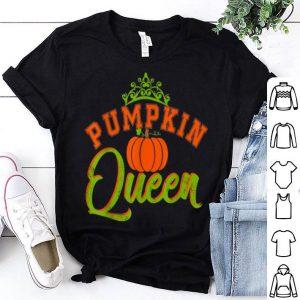 Pretty Pumpkin Queen Autumn Fall for Women Girls Thanksgiving shirt