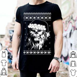 Pretty Star Wars Chewbacca Ugly Christmas Sweater Santa shirt