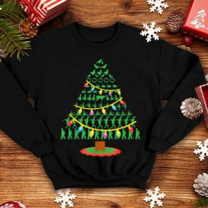 Pretty Twelve Days of Christmas Tree sweater