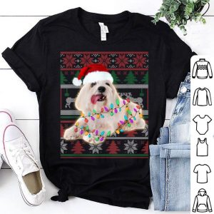 Top Coton De Tulear Ugly Sweater Christmas Gift shirt