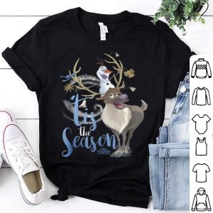 Top Disney Frozen Olaf Sven Tis The Season Christmas shirt