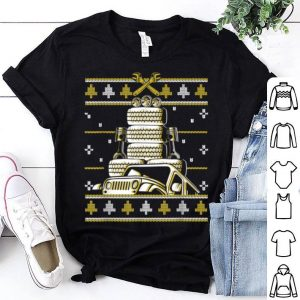 Top Funny Christmas Ugly Sweater For Jeep Drivers shirt