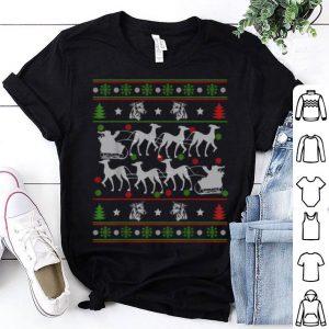 Top Greyhound Reindeer Ugly Christmas 2019 Dog Gift shirt