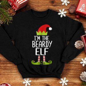 Top I'm The Beardy Elf Christmas Family Elf Costume shirt