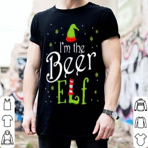 Top I'm The Beer Elf Funny Group Matching Family Xmas Gift sweater