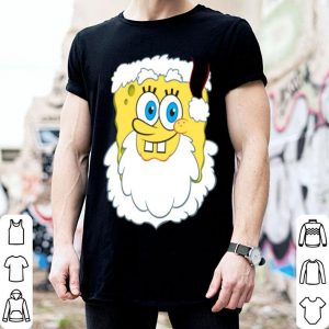 Top Spongebob SquarePants Large Santa Clause Christmas shirt