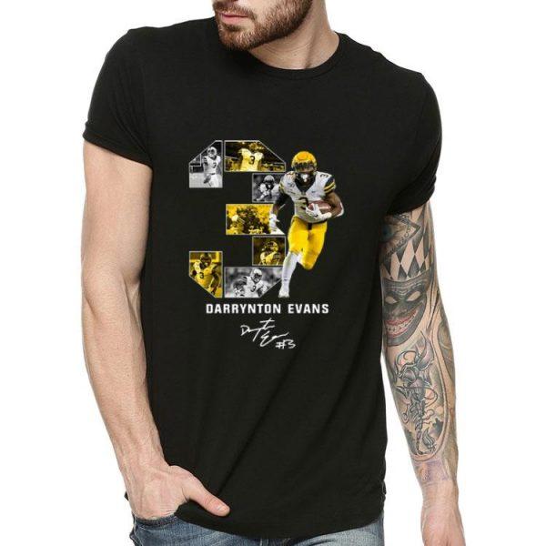03 Darrynton Evans Appalachian State Mountaineers Signature shirt