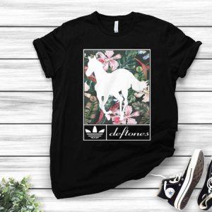 Adidas Deftones Horse Floral shirt