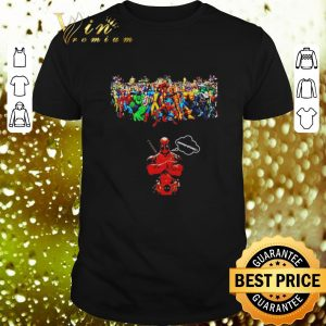 Awesome Deadpool common bitches and Marvel Avengers Endgame shirt