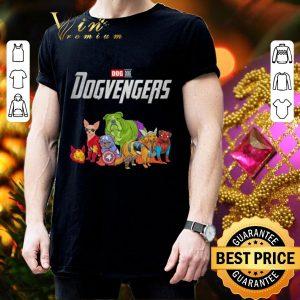 Awesome Dog Dogvengers Marvel Avengers Endgame shirt 2