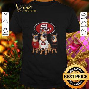 Awesome German Shepherd dogs San Francisco 49ers shirt