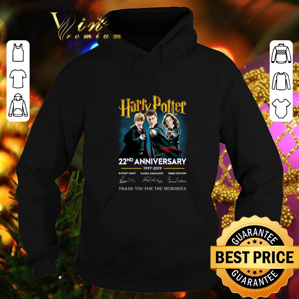 Awesome Harry Potter 22nd anniversary signed thank you for the memories shirt 4 - Awesome Harry Potter 22nd anniversary signed thank you for the memories shirt
