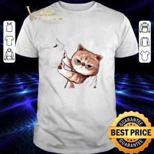 Awesome Kiss cat cute shirt