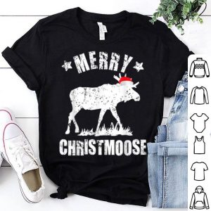Awesome Merry Christmoose Family Christmas Pajamas Moose sweater