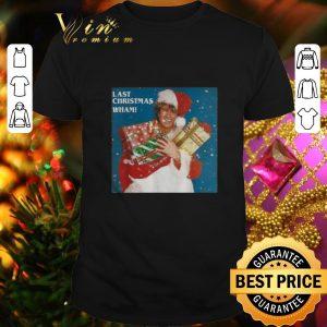 Awesome Wham Last Christmas George Michael shirt