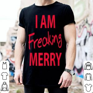 Beautiful I am Freaking Merry Funny Christmas sweater