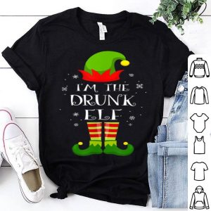 Beautiful I'm The Drunk Elf Matching Family Group Christmas sweater