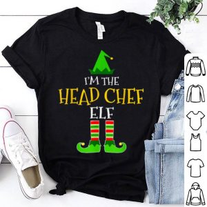 Beautiful I'm The Head Chef Elf Matching Family Group Christmas sweater