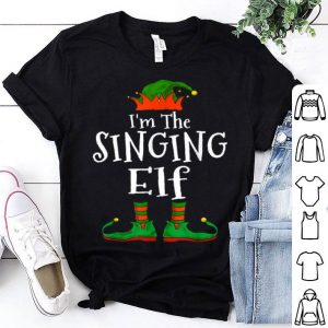 Beautiful I'm The Singing Elf Family Matching Funny Christmas Gift sweater
