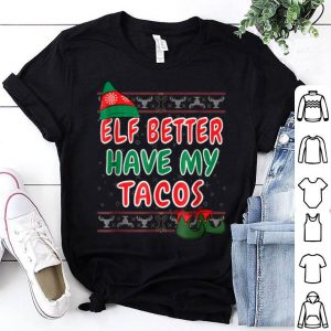 Beautiful My Tacos Funny Ugly Sweater Christmas Gift Elf sweater