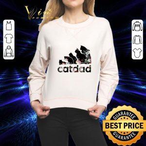 Best Adidas catdad flower shirt