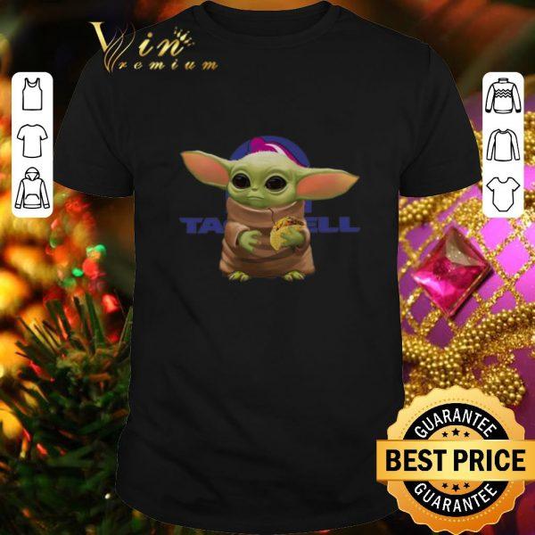 Best Baby Yoda Hold Tacos Taco Bell Logo shirt