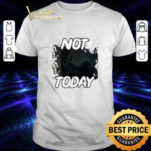 Best Game of Thrones the Night King not Today Arya Stark shirt