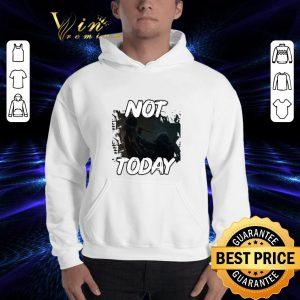 Best Game of Thrones the Night King not Today Arya Stark shirt 2