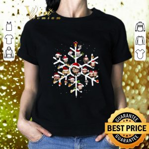 Best Harry Potter Characters On Snowflakes shirt 1