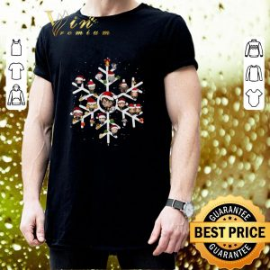 Best Harry Potter Characters On Snowflakes shirt 2