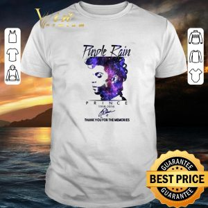 Best Purple Rain Prince 1958 2016 signed thank you for the memories shirt