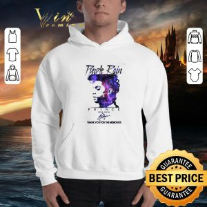 Best Purple Rain Prince 1958 2016 signed thank you for the memories shirt 2