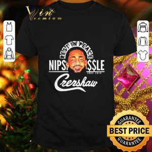 Best Rip Rest In Peace King Nipsey Hussle Crenshaw shirt