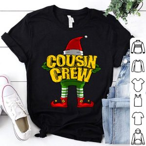 Nice Cousin Crew Christmas Elf Matching Family Gift Tee sweater