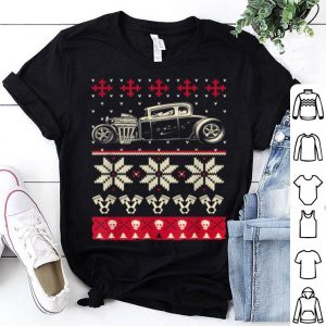 Nice Ugly Hot Rod Christmas sweater