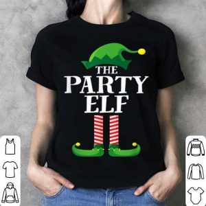Official Party Elf Matching Family Group Christmas Party Pajama sweater