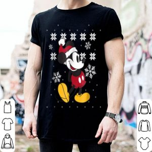 Original Disney Faux Ugly Christmas Sweater Mickey Mouse sweater