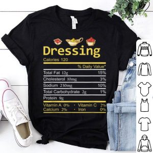 Original Dressing Nutrition Facts Thanksgiving Costume Christmas sweater