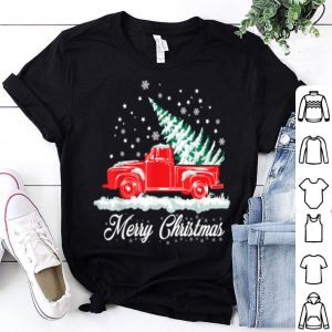 Premium Christmas Classic Old Red Truck Classic XMAS Tree sweater