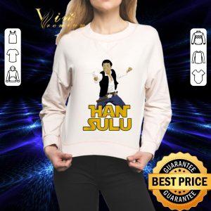 Pretty Han Solo Han Sulu Star Trek Hikaru Sulu Star Wars shirt