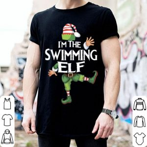 Pretty I'm The Swimming Elf Christmas Eve Xmas Elf Squad Costume sweater