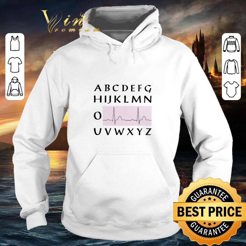 Pretty PQRST nurse alphabet heartbeat shirt 4 - Pretty PQRST nurse alphabet heartbeat shirt