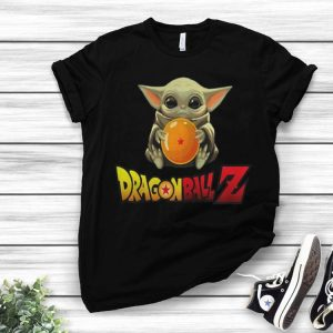 Star Wars Baby Yoda Hug Dragon Ball Z shirt