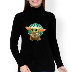 Star Wars Baby Yoda Hug Starbucks shirt