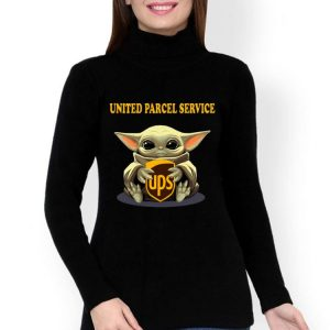 Star Wars Baby Yoda Hug United Parcel Service shirt