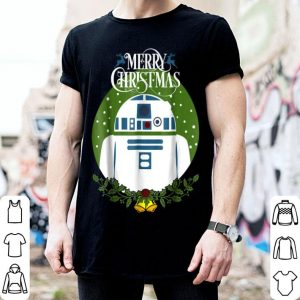 Star Wars R2-D2 Merry Christmas Wreath Bells Graphic sweater