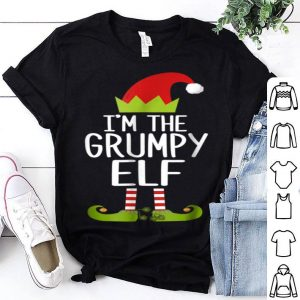 Top I'm The Grumpy Elf Christmas Family Elf Costume sweater