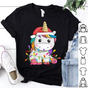 Top Unicorn Tree Christmas Sweater Xmas Pet Animal Lover Gifts sweater
