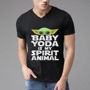 Baby Yoda Is My Spirit Animal shirt
