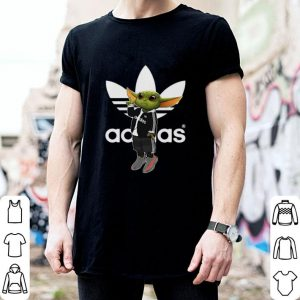 Baby Yoda Mashup Adidas shirt